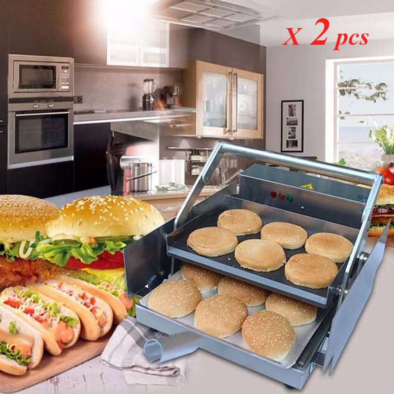 514.20$  Buy here - http://alianb.worldwells.pw/go.php?t=32764244134 - 2pcs/lot Commercial Hamburger Maker Commercial Electric Hamburger Machine BHB -6
