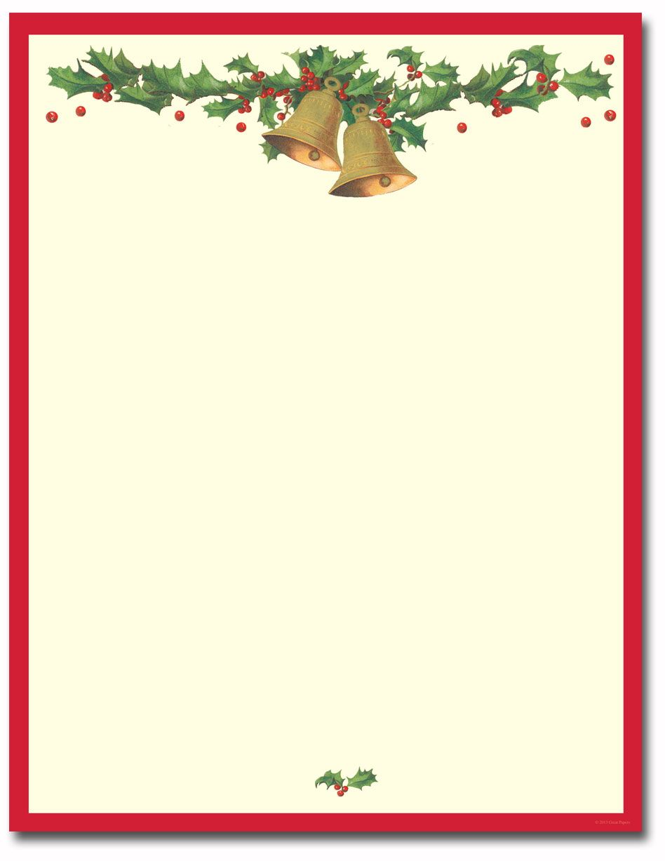holiday stationery free