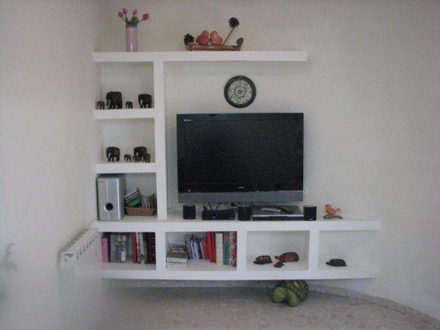 Plaster Boards Tv Shelves Design Entertainment Room Decor Shelves In Bedroom Bookshelves In Bedroom