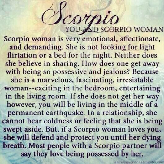 Love being a SCORPIO WOMAN ! | Scorpio | Scorpio woman, Scorpio
