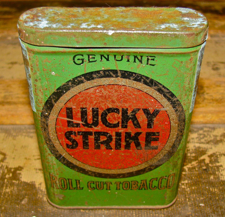 Lucky Strike Tin