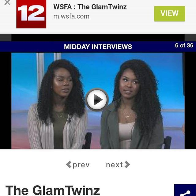 WEBSTA @ theglamtwinz - Check out our full live interview