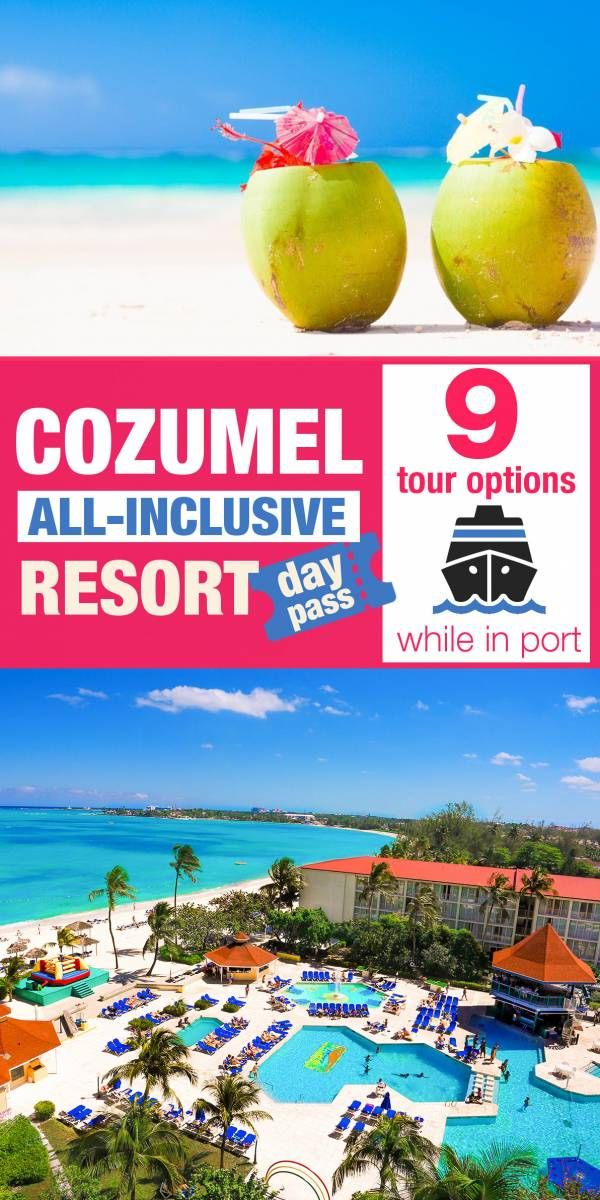 Cozumel Cruise Port 9 Best All Inclusive Day Pass