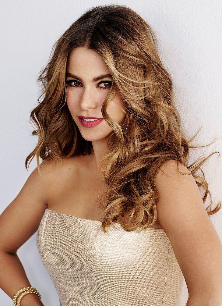 Sofia Vergara for «New Beauty» 2014 Sofia vergara hair