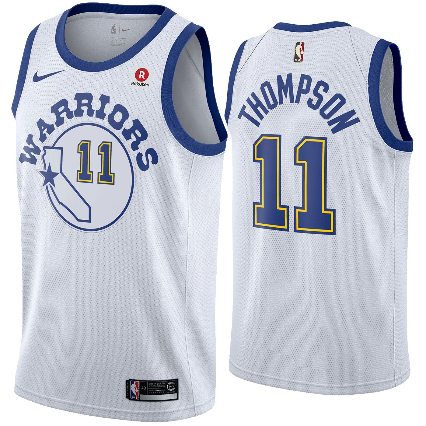 e33f1ad3064 Golden State Warriors Nike Dri-FIT Men's Klay Thompson #11 Swingman  Hardwood Classic Jersey - White - Golden State Warriors - Official Online  Store