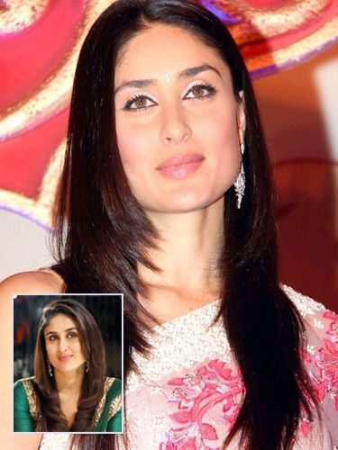 Find The Best Haircuts For Your Face Shape Simple Hairstyle For Saree Kareena Kapoor Hairstyles Hair Styles