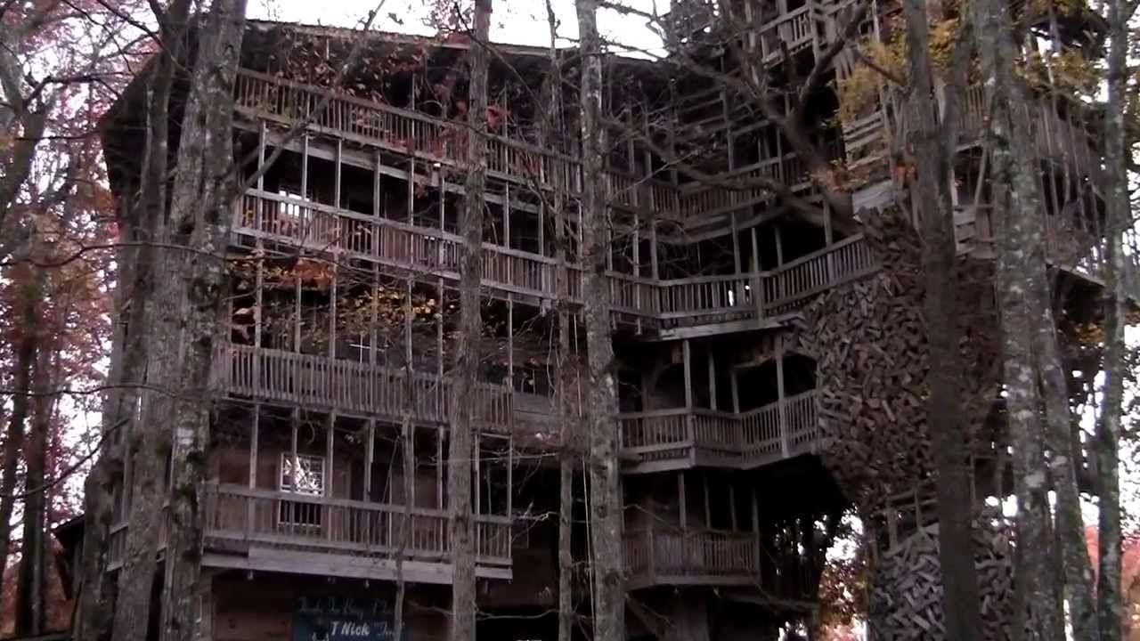 worlds largest tree house crossville tn as seen on abc wkrn tv nashvill