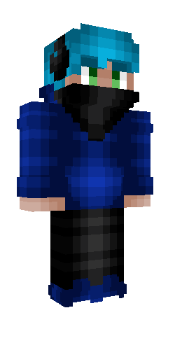 Gamer Boy Bandanna And Headphones Blue Hoodie In 2020 Blue Hoodie Minecraft Skins Steampunk Boy