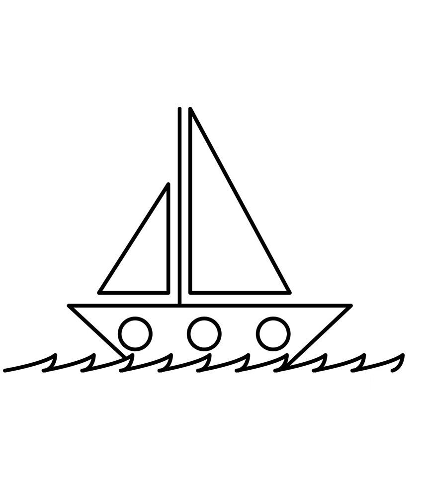 Free Printable Boat Coloring Pages For Kids Best Coloring Pages For Kids Boat Drawing Coloring Pages Coloring Pages For Kids [ 972 x 857 Pixel ]