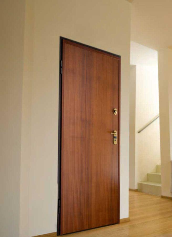 La #porta #blindata Alias Produzione Porte Blindate #Steel (classe ...