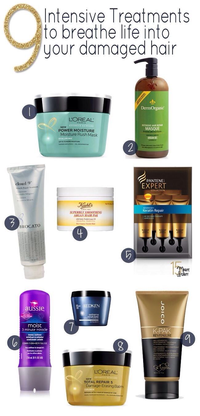 Best Hair Treatments For Your Damaged Hair  Hair Gel Bottle