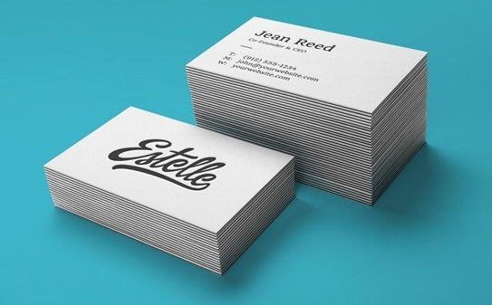 Top New Business Card Mockup Templates For Free Download 365 Web Resources Business Card Mock Up Free Business Card Mockup Letterpress Business Cards