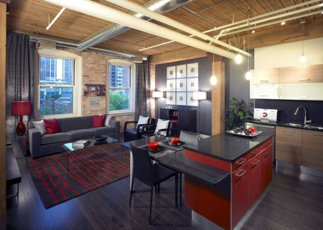 Loft Apartments Chicago Lofts Is Condo Design Stylish Or Super Cry In