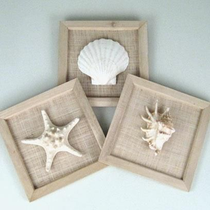 So Simple Wood Frames No Glass Burlap And Mount Your Favorite