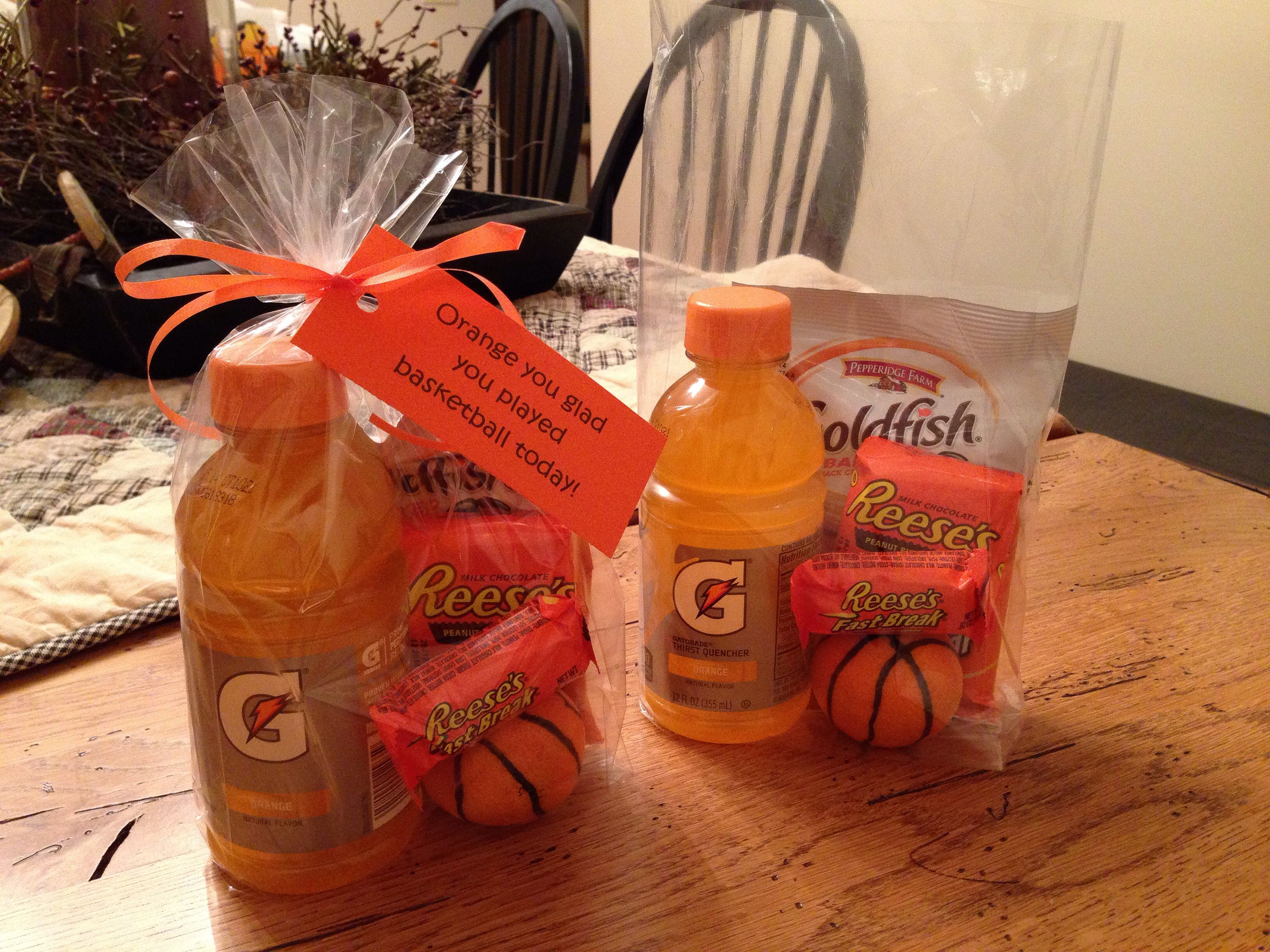 Orange you glad you played basketball today! | Fun Food ...