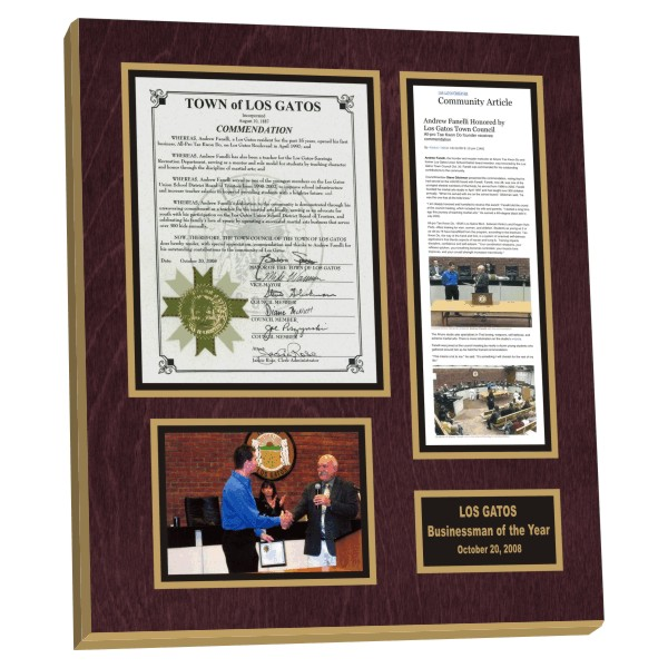 picture framing newspaper and magazine articles