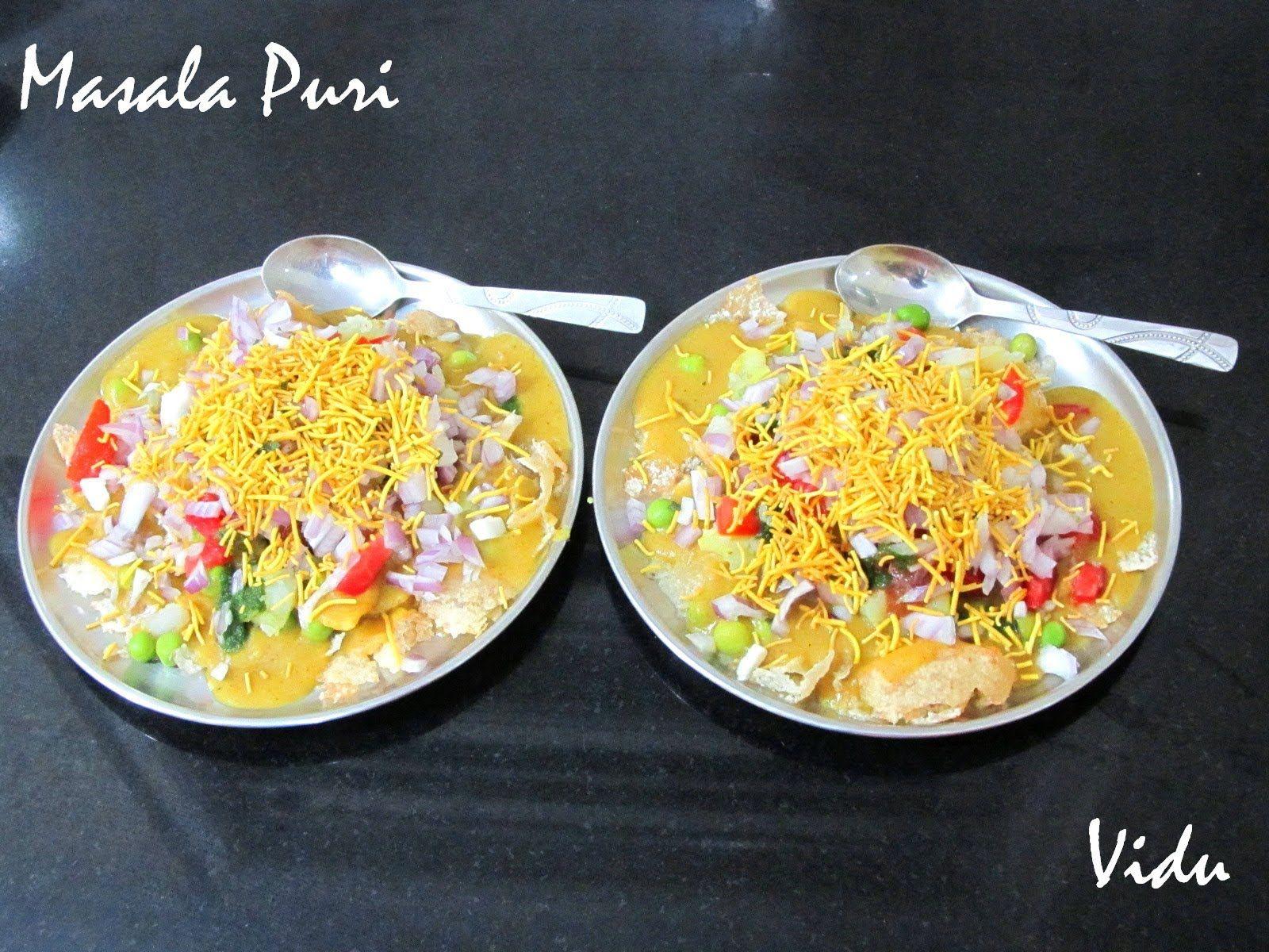 Masala puri chaat recipe pinterest street food chutney and food masala puri chaat forumfinder Images