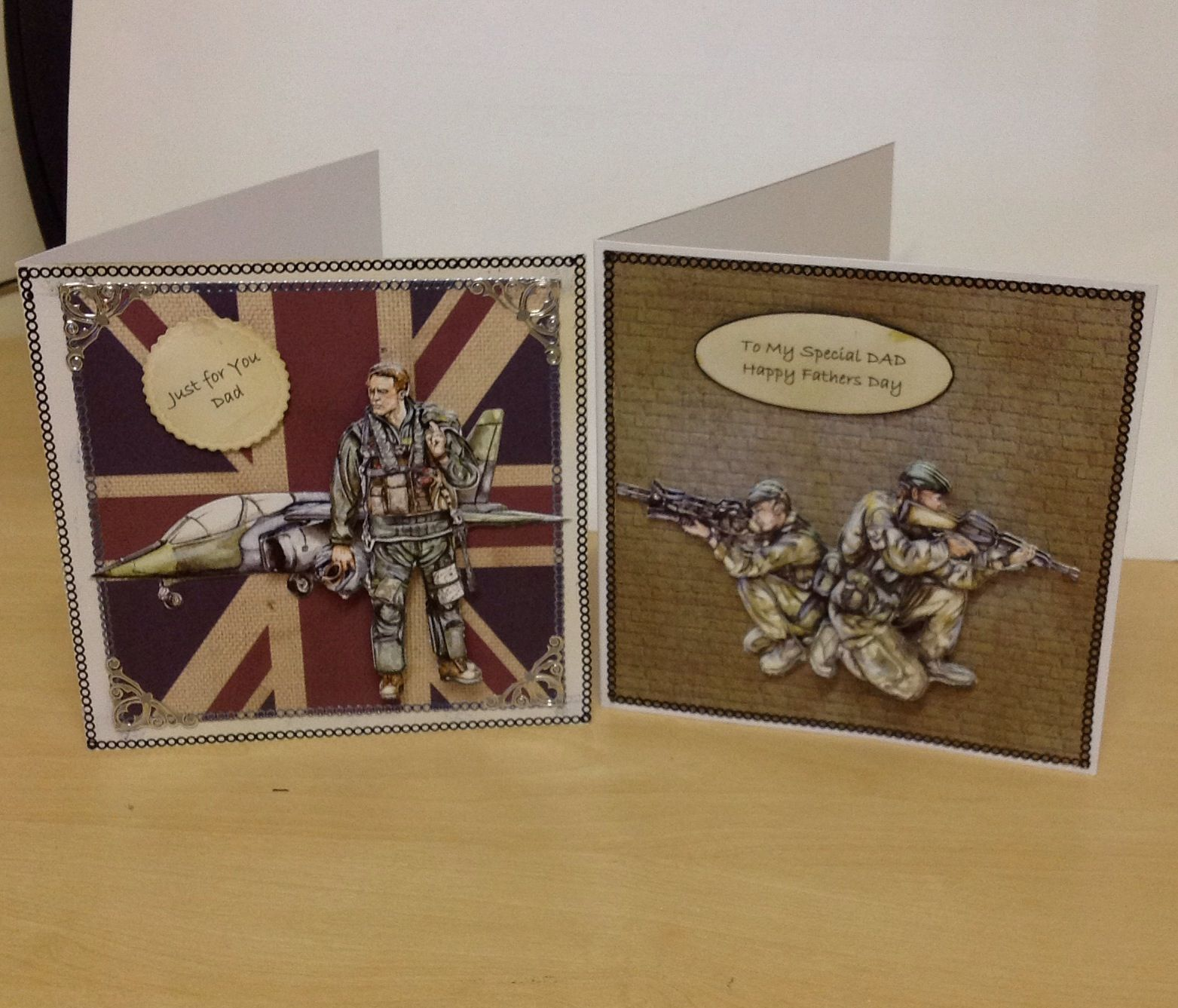 Two more men's cards....ready for Fathers Day