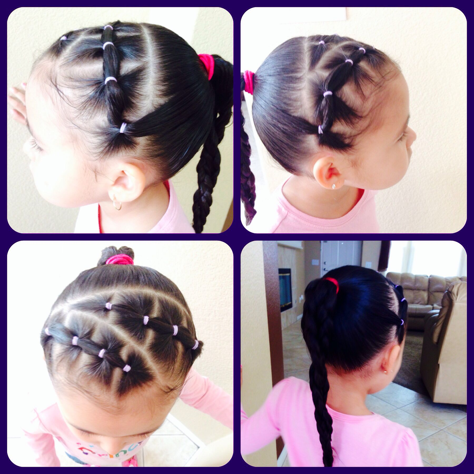 Little Girls Hair Style My Creation Miris Things Girl