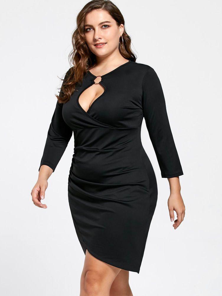 bd93b2bf2 Vestidos Ropa de Moda Para Mujer De Fiesta Elegante Tallas Grandes Plus Size   Vestidos  Elegantes