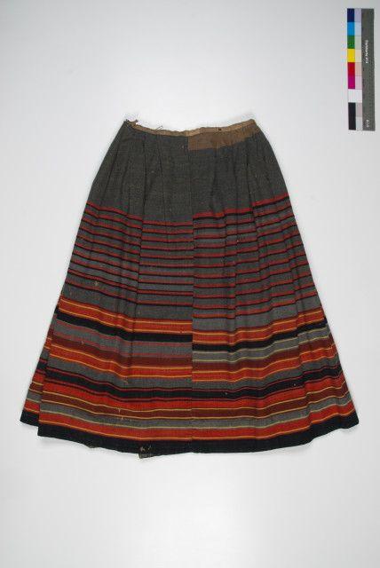 Eesti muuseumide veebivärav - seelik, Narva (ERM A 311:47); Eesti Rahva Muuseum