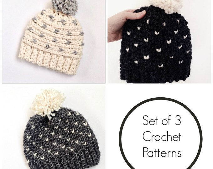 hat crochet patterns / fair isle hat pattern / crochet toddler ...