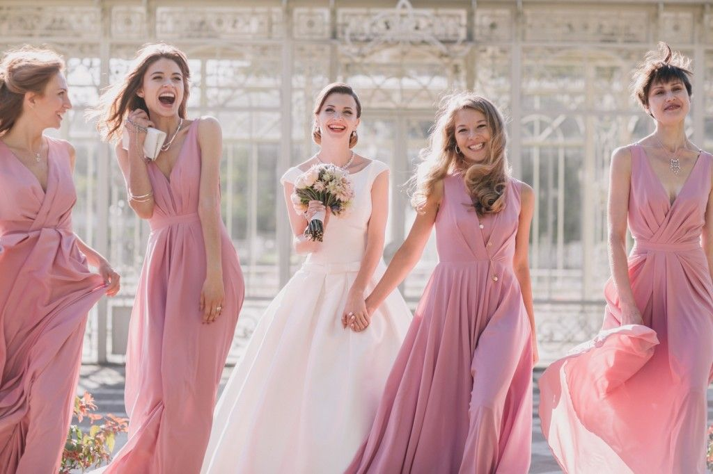 Anna and her bridesmaids | Wedding style | Pinterest | Anna, Russian ...