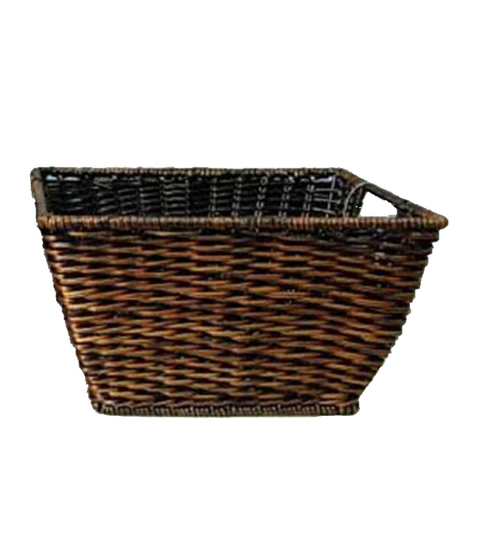 Marvelous Organizing Essentials Woven Rectangle Fern Basket, , Hi Res
