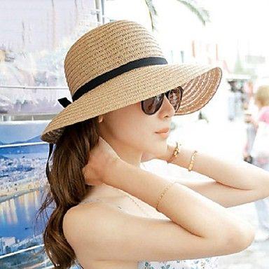Women's Foldable Beach Holiday Beach Hat - USD $ 11.39