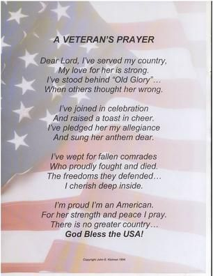 veteran poems inspirational short soldier poems