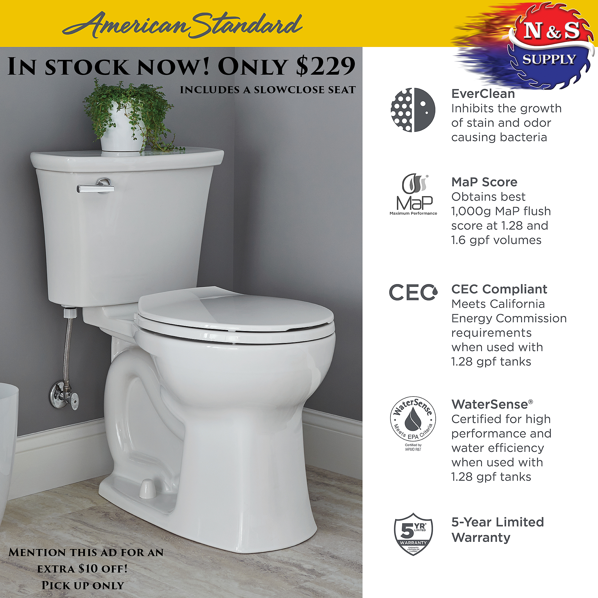 Christmas Present For Your House This Beautiful Toilet Is One Of The Best Flushing And You Can T Beat The Price R Edgemere Toilet Christmas Present For You