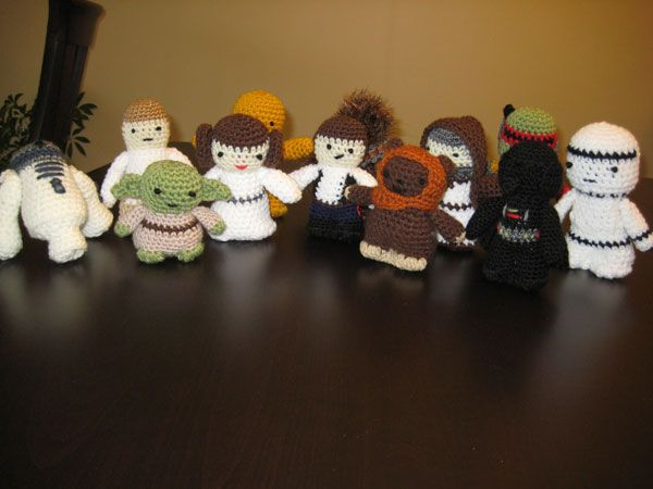 Amigurumi Star Wars Patterns : Free crochet character hat patterns star wars characters crochet