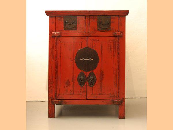 Ca05004 Petit Meuble Chinois Laque Rouge Jpg 600 450 Petit Meuble Mobilier De Salon Meuble Chinois