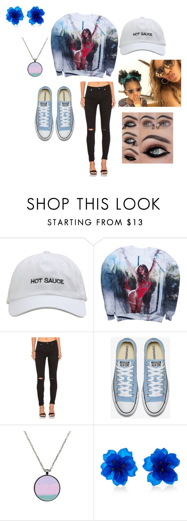 """""""Beyonce"""" by naenaeharrington ❤ liked on Polyvore featuring 7 For All Mankind and Matthew&Melka"""