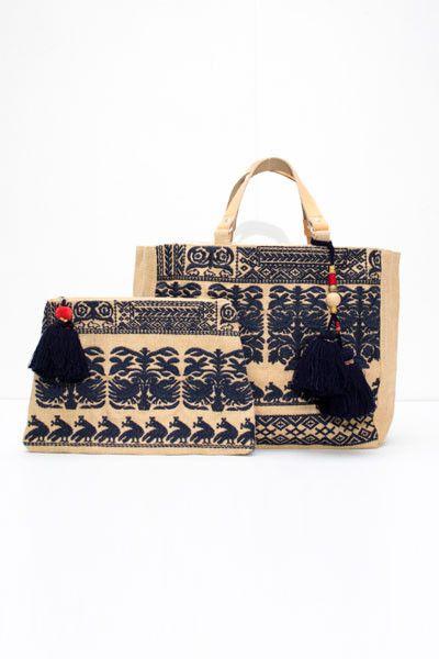 Savana Embroidered Bag