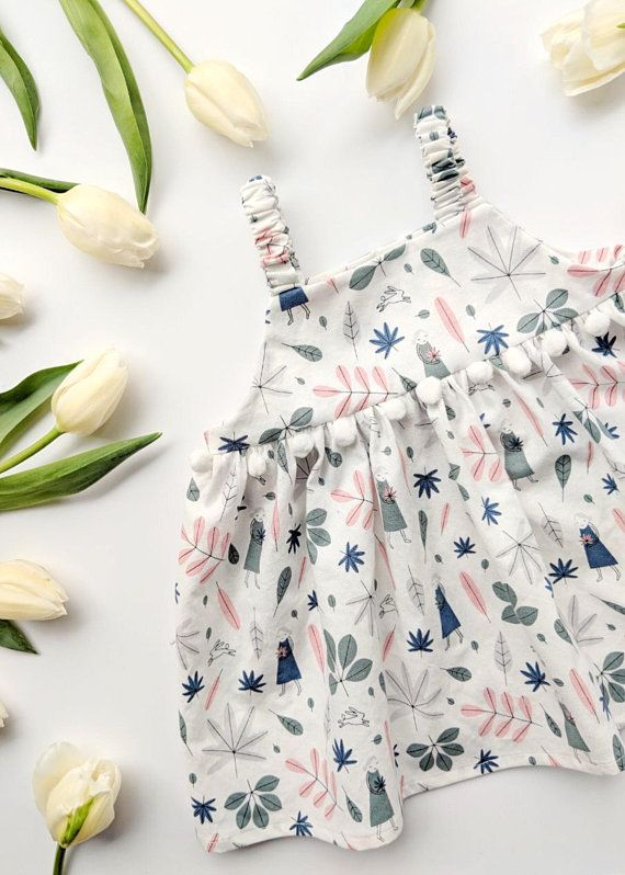 4732836b2053 Baby Girl Floral Dress Spring Dress  Size 3-6M Baby Boho Dress Baby ...