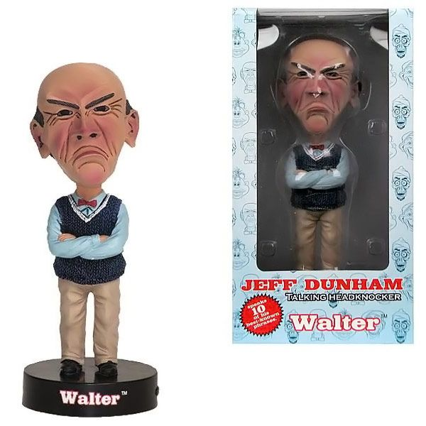 Jeff Dunham Walter Talking Bobble Head | Walter o'brien, Bobble ...