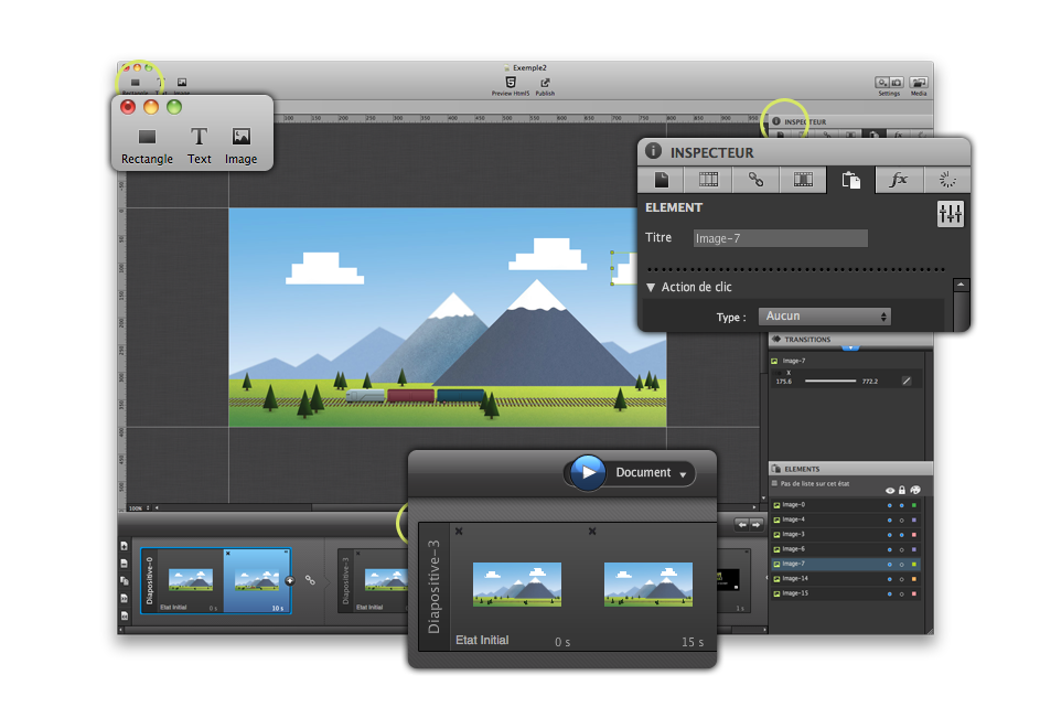 Create engaging interactive animations and run them anywhere!