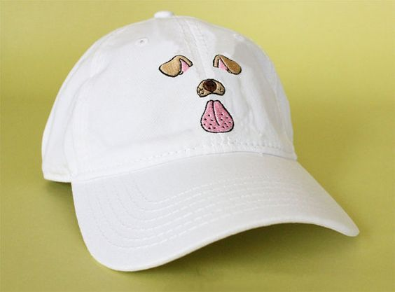 4549b027f184e Snapchat Filter Hat this is so cute