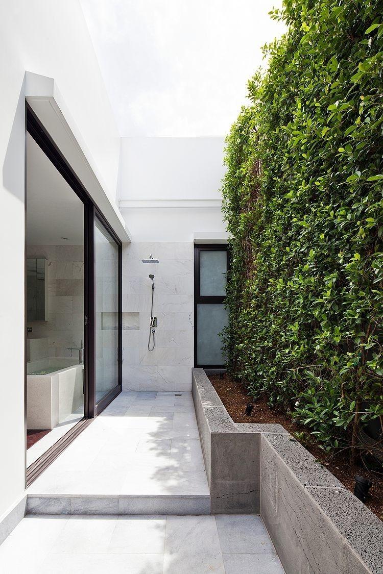 Gartendusche Design   Ideen Gartendusche Design Erfrischung