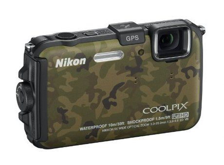 Unioncy - Nikon COOLPIX AW100 16 MP CMOS Waterproof Digital Camera with GPS and Full HD 1080p Video (Camouflage). Want it? Own it? Add it to your profile on unioncy.com #tech #gadgets #electronics