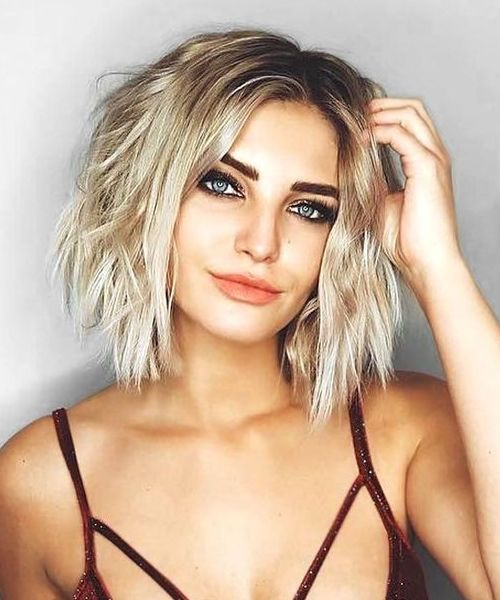 Popular Short Choppy Hairstyles 2018 For Women With High Standards