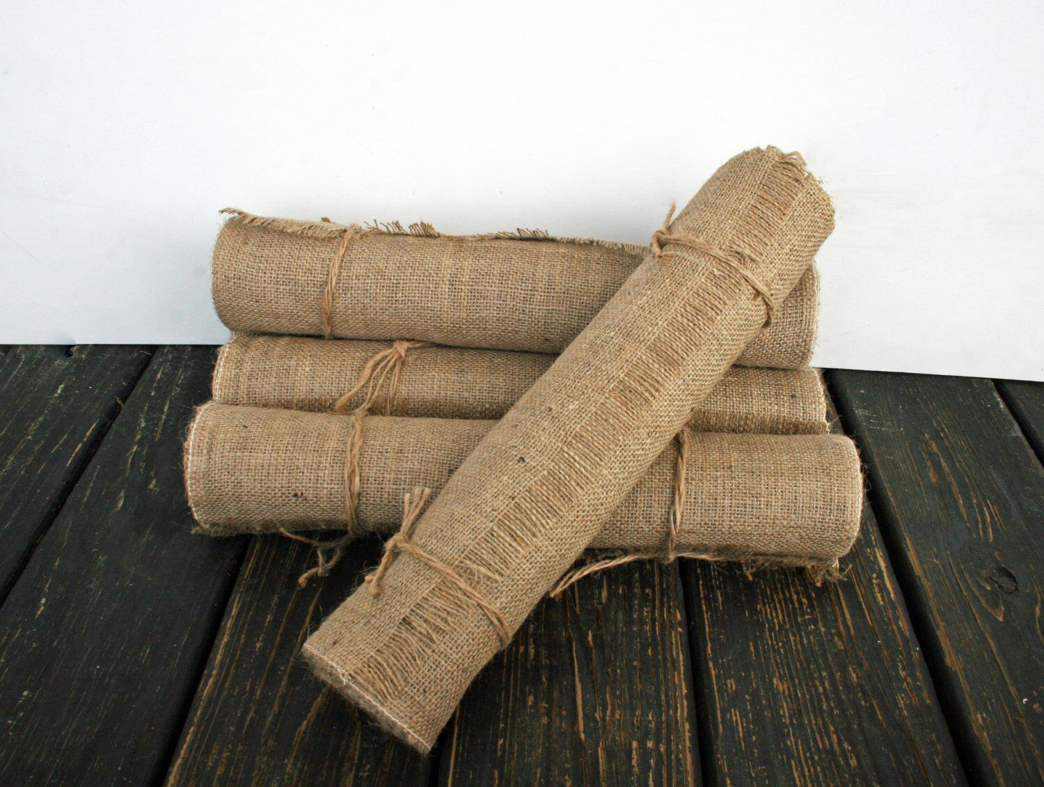 Table Runner, 10 Inch Wide by 96 Inch Long Burlap Table