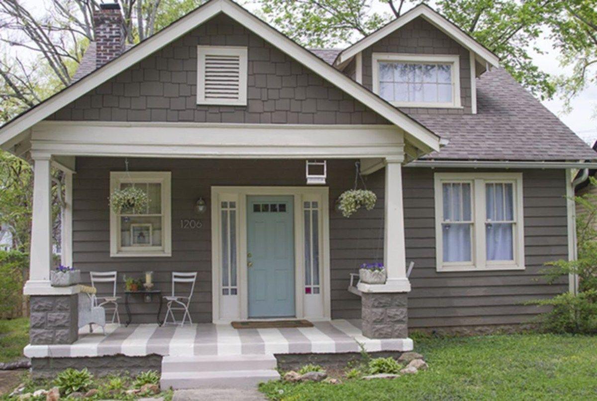 Exterior Paint Schemes For Bungalows 5 House Color