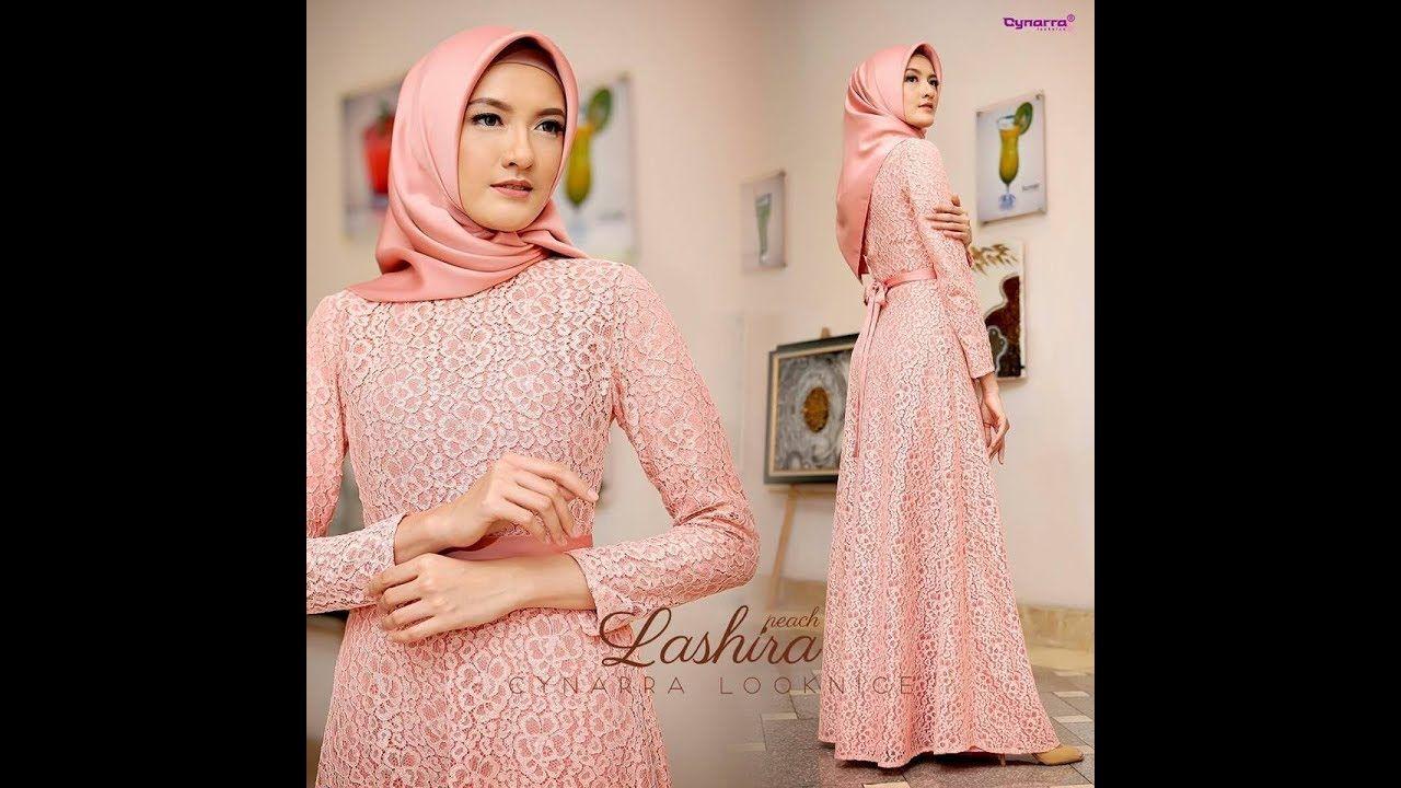 Model Baju Pesta Brokat 2018 Edisi Lashira Muslimah Fashion