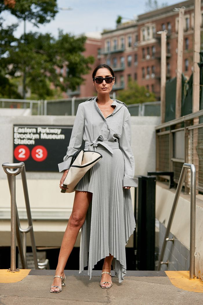 The Latest Street Style From New York Fashion Week   Cool