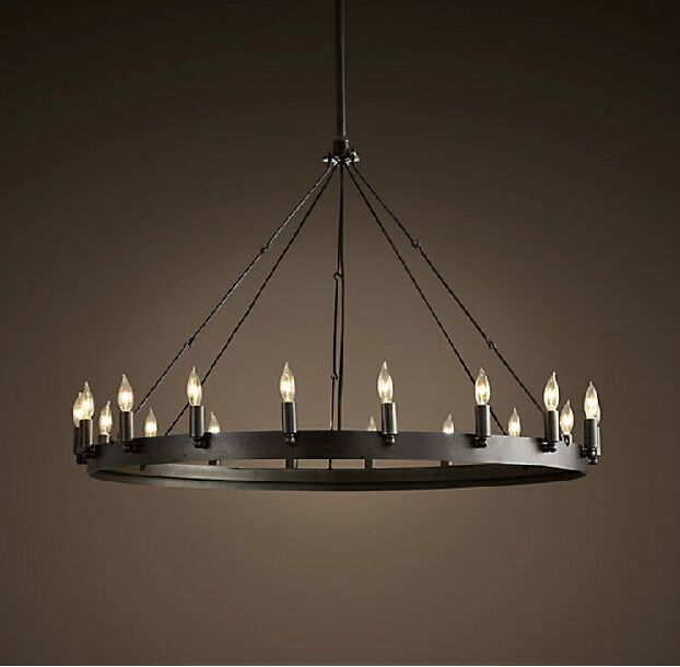 Cheap chandeliers on sale at bargain price buy quality antique wrought iron chandelier vintage - Old chandeliers cheap ...