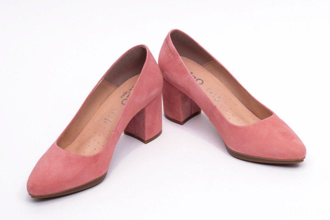 2c3067e3 miMaO Urban S Rosa palo – Zapato mujer de tacon salones maquillaje vestir  cómodo - women