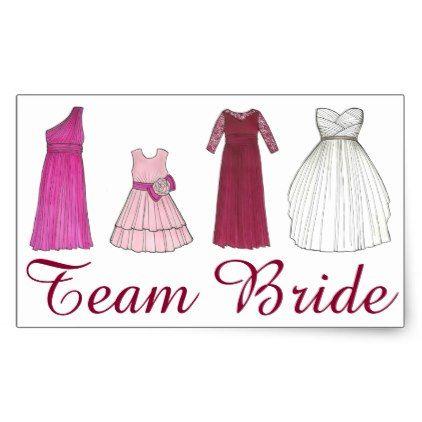#bridesmaid - #Team Bride Wedding Bridal Party Bridesmaid Sticker