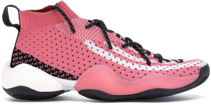 brand new 0aa19 bd1a5 adidas Crazy BYW LVL X Pharrell Ambition Pink